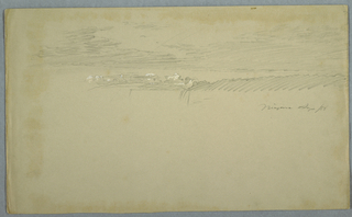 Drawing, Sky over the Falls, September 1856