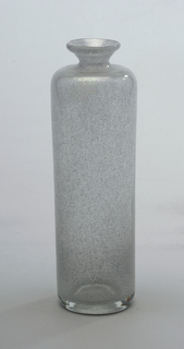 Milky white/silvery glass