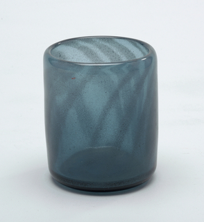 Turquoise/blue glass