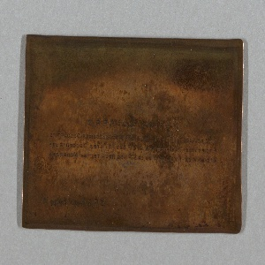 Guimard Printing Plate