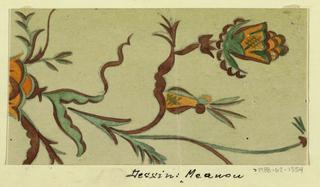 Drawing, Textile Design: Meanon