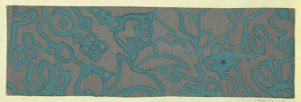 Drawing, Textile Design: Nero, 1911–14