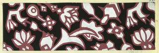 Drawing, Textile Design: Nero