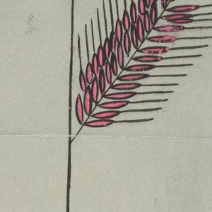 Drawing, Textile Design: Korngold