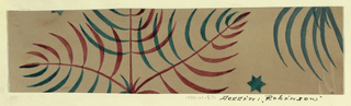 Drawing, Textile Design: Robinson, 1921–1922
