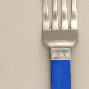 Electra Blue Salad Fork, 1986
