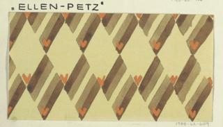 Drawing, Textile Design: Ellen Petz