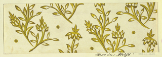 Drawing, Textile Design: Delft