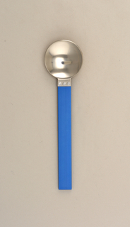Electra Blue Soup Spoon, 1986
