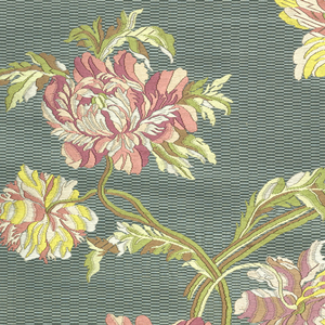Brocaded silk; woven in Lyon, about 1910, by Tassinari & Chapel for Mrs. George T. Bliss; yardage.