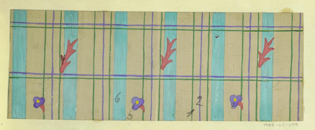 Drawing, Textile Design: Sachsen (Saxony), 1918