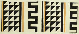 Drawing, Textile Design: Manna