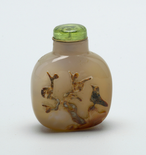 Snuff Bottle And Stopper (China)