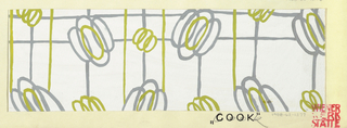 Drawing, Textile Design: Cook