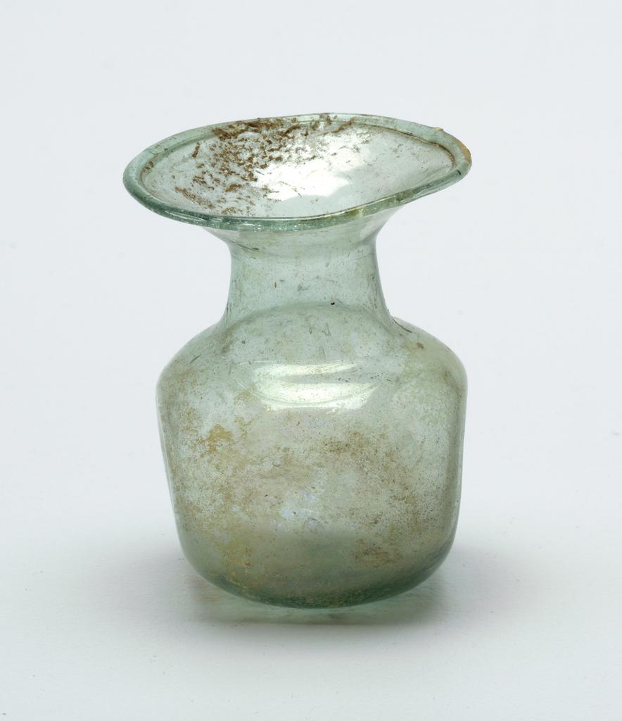 Clear Bottle Green glass