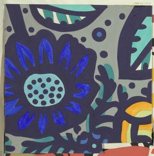 Drawing, Textile Design: Haugsdorf