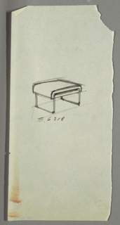 Drawing, Stool