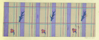 Drawing, Textile Design: Sachsen (Saxony), 1918