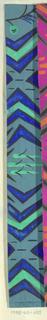 Drawing, Textile Design: Wipfel (Treetop)