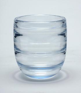 Hint of light blue glass