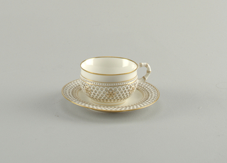 Cup And Saucer (France), 1903