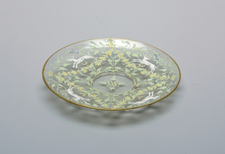 Underplate for finger bowl