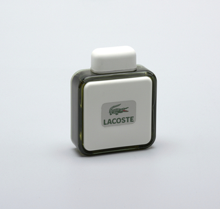 """""""Lacoste"""" Perfume Bottle And Cap"""