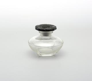 Black floral stopper