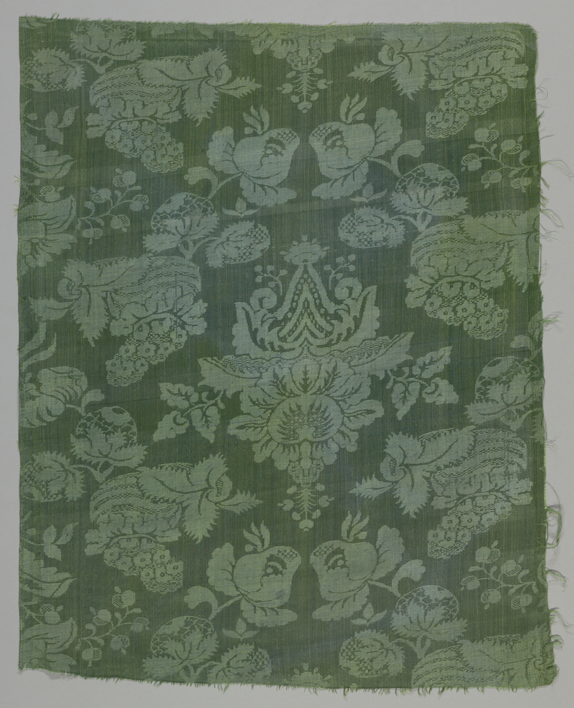 Damask lining for components a/c.