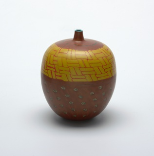 Bambu vase from the Pasta Vitrea Series Vase, 1998