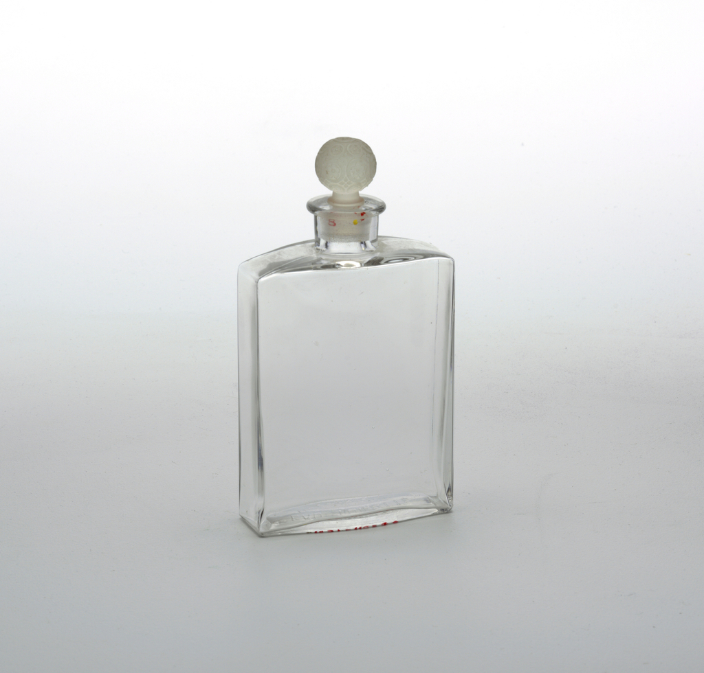 Houbigant Toilet water bottle by Lalique. No components noted in ledger.