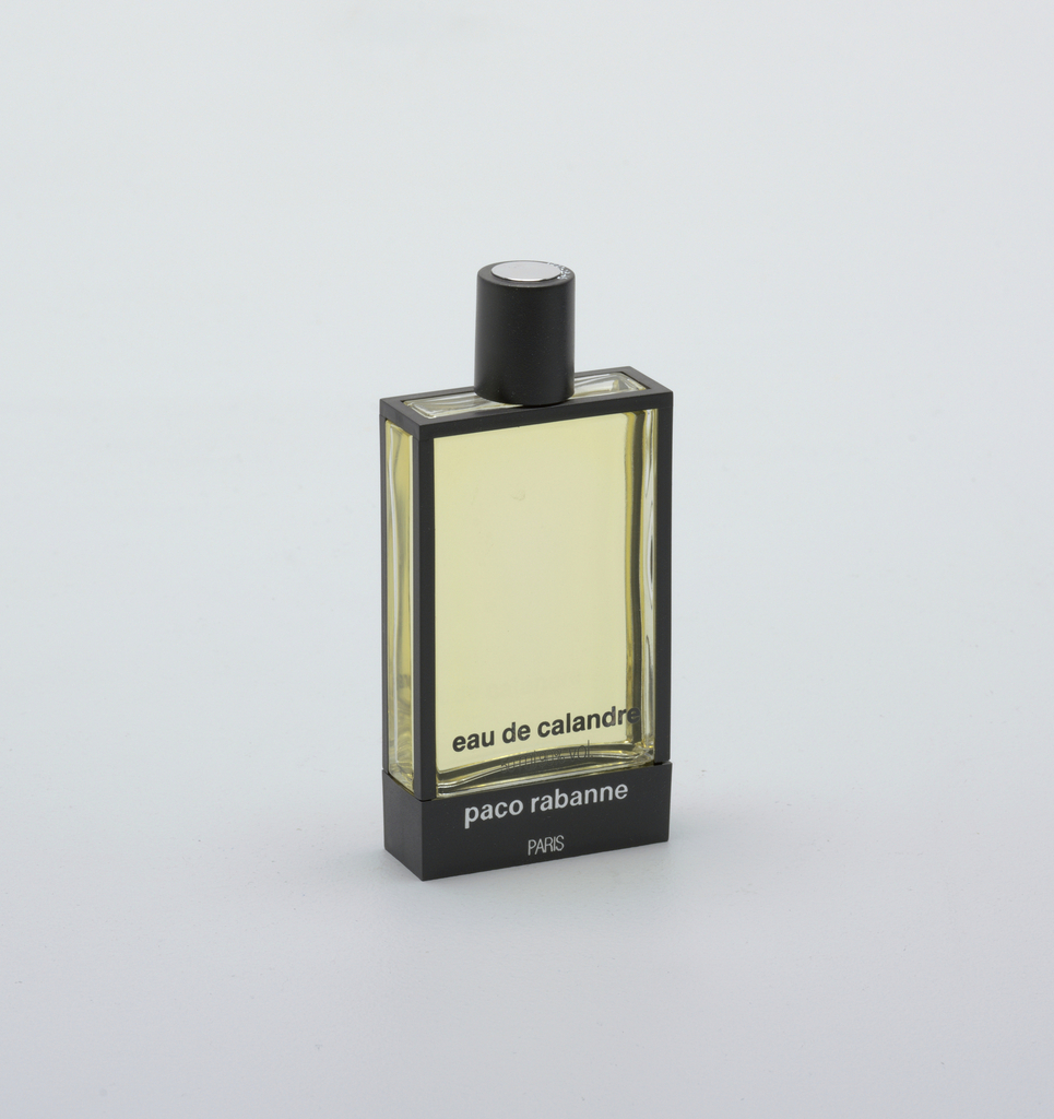 Calandre Perfume Bottle And Cap, 1969