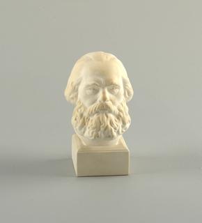 Bust of Karl Marx Figure