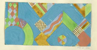 Drawing, Textile Design: Orakel (Oracle)