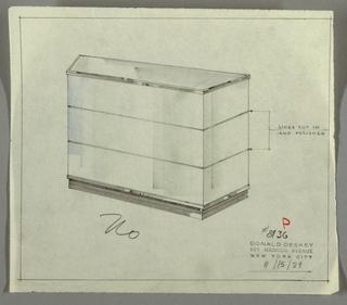 Drawing, Bar, November 15, 1934