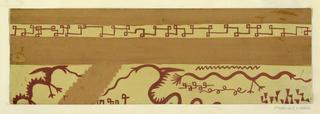 Drawing, Textile Design: Mandarin
