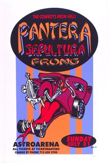 Poster, Pantera Sepultura Prong