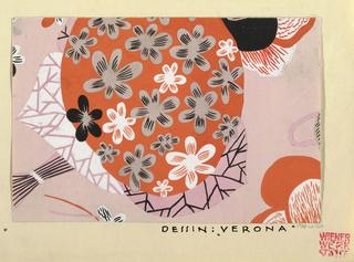Drawing, Textile Design: Verona