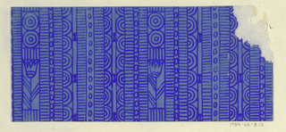 Drawing, Textile Design: Ozon (Ozone)