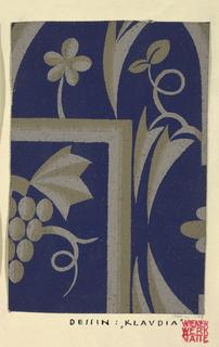 Wallpaper, Textile Design: Klaudia