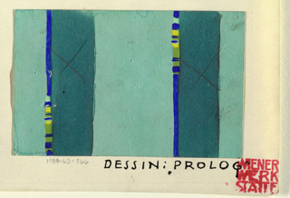 Drawing, Textile Design: Prolog (Prologue)