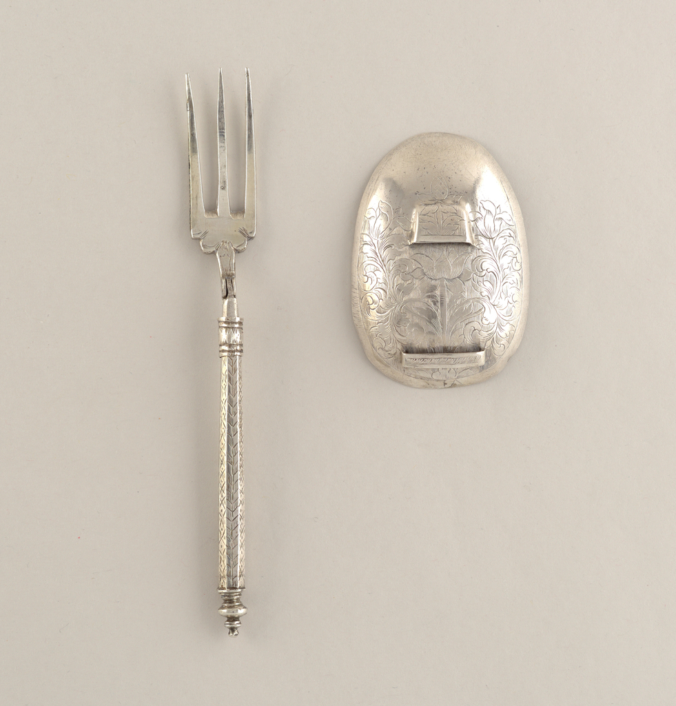 Folding Fork And Spoon Bowl