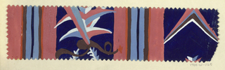 Drawing, Textile Design: Zaunkönig (Wren)