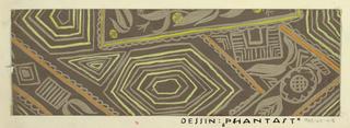 Drawing, Textile Design: Phantast (Visionary)