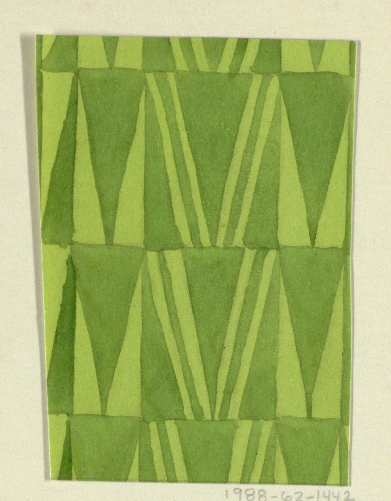 Drawing, Textile Design: Giebel