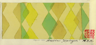 Drawing, Textile Design: Zwinger