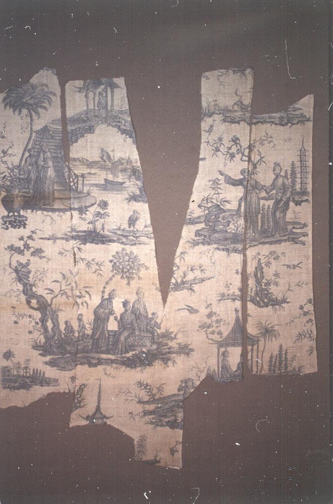 Fragments, La pagode sur un pont de rochers (The pagoda on a rock bridge)