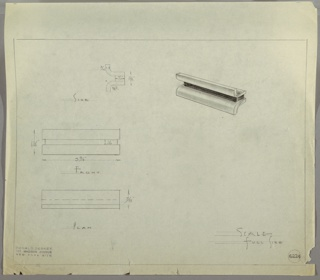 Drawing, Drawer Pull, ca. 1925–35