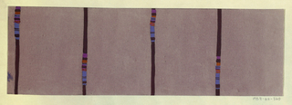 Drawing, Textile Design: Prolog (Prologue), 1922