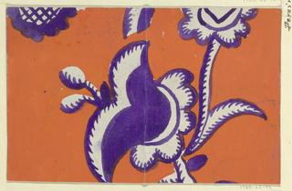 Drawing, Textile Design: Distel (Thistle)